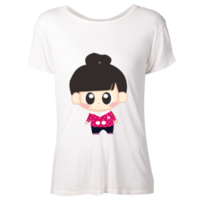 卡通-女款彩色T恤