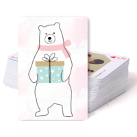 卡通熊-双面定制扑克牌