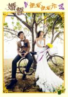 婚誓大海报(一生相随)-B2单面竖款印刷海报