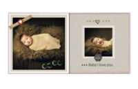 欧式古典baby影集-GOOD BABY-贝蒂斯8X8博彩书