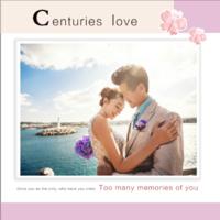 世纪的爱恋(love)--婚纱 爱情 婚庆 写真-8x8双面水晶印刷照片书30p