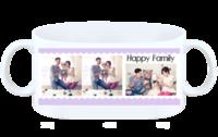happy family 幸福家庭-白杯