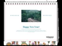 happy new year#-8寸单面印刷台历