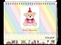 baby shower-8寸双面印刷台历