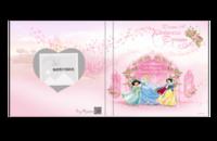 迪士尼公主 我的公主梦-6x6照片书