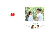 【她和他】我们的故事 送男友送女友 周年纪念-A3硬壳蝴蝶装照片书32p