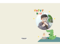 快乐每一天-韩版可爱小清新卡通宝宝相册-8x12对裱特种纸20p套装