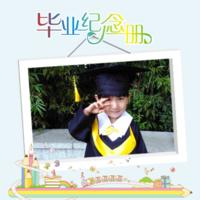 毕业纪念册珍藏版(小学幼儿园通用)-8x8双面水晶银盐照片书30p