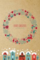 【圣诞节】Merry Christmas温馨DIY礼物卡片-定制lomo卡套装(25张)