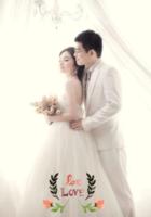 浪漫的爱(装饰可移动、图片可换)-B2单面竖款印刷海报