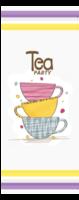 tea party 休闲幸福时光-定制单面书签