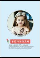 最是纯真孩童时-宝宝成长纪念-8x12单面水晶印刷照片书30p