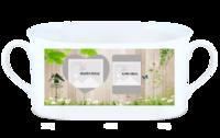 秘密花园-骨瓷白杯