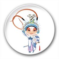 卡通京剧人物-4.4个性徽章