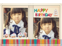HAPPY BIRTHDAY生日快乐生日纪念-硬壳精装照片书20p
