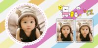 可爱萌娃成长记 宝贝的七彩童年 家有萌宝-8x8PU照片书NewLife