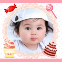 幸福时光-超萌蛋糕甜品精美内页-亲子、写真、旅行、闺蜜、爱情、聚会、宠物通用(首图可换)-精美高档PU照片书10x10