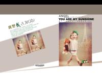 成长的幸福(封面封底及内页图片可替换)-8x12对裱特种纸30p套装