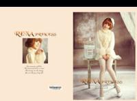 安娜公主-8x12对裱特种纸22p套装