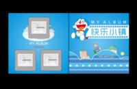 哆啦A梦新品:快乐小镇精美画册书-天使宝贝10x10照片书