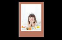 可爱宝贝 样图可以换-8x12印刷单面水晶照片书20p