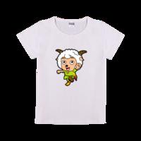 喜洋洋-时尚童装修身T恤