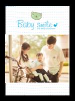 宝宝的可爱笑脸-A4杂志册(36P)