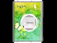 绿色童话-最美的礼物(宝贝,童年回忆,生活点滴)-A4时尚杂志册(24p)