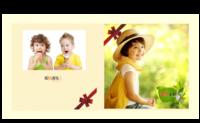 幸福宝贝-8X8锁线硬壳精装照片书24p