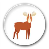 小鹿-2.5徽章