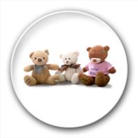 三只小熊-2.5徽章
