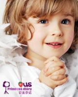 公主日记(图片可换)女宝宝女生专用-30寸竖式海报