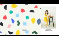 彩色童年 宝宝成长纪念册-8x8对裱特种纸30p套装