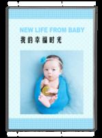 我的幸福生活-萌娃-宝贝-照片可调换-A4杂志册(40P)