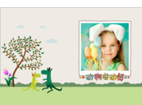 宝贝的世界-动物总动员-欢乐童年-A4硬壳照片书34p