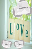 LOVE-15寸木版画竖款