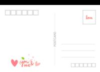 love 爱情 我们的爱情(通用版)-长方留白明信片(横款)套装
