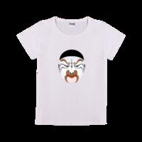 手绘简笔画系列-鸡腿-时尚童装修身t恤