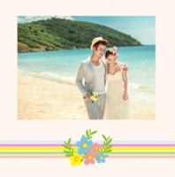 永恒挚爱(爱情、婚礼)文字可编辑-精美高档PU照片书10x10