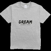 梦想还是要有的舒适彩色T恤