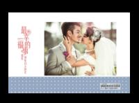 最浪漫的事(封面封底图片可替换)-亚克力台历(7页有框)