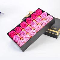 长方形玫瑰18朵