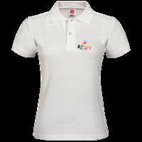 班服—我们在一起,可添加班级或团队名称等-女款纯色POLO衫