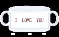 I  LOVE YOU-白杯