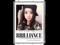 英文杂志册 时尚 潮流 精美 通用 个人写真(照片可更换)-A4时尚杂志册(26p)