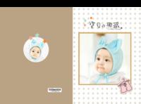 宝贝の典藏-样图可换-硬壳精装照片书22p