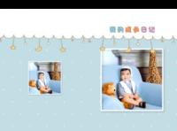 亲子-我的成长日记 宝宝相册(图文可换)-8x12对裱特种纸30p套装
