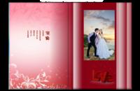 【真爱永随】(适合情侣照、旅行照、蜜月照 封面及内页人物可替换)-8x12高清银盐照片书