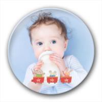 萌宝宝(宝宝、宝贝、亲子、可爱、卡通、通用)-创意镜子钥匙扣