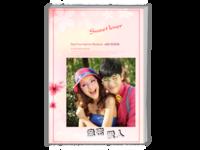 亲密爱人(情侣写真、婚纱摄影、爱情纪念册)-A4时尚杂志册(24p)